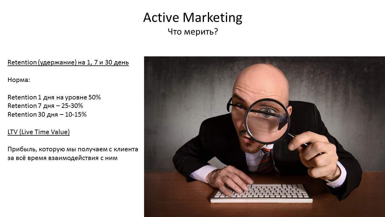 Мобильный интернет маркетинг: показатели