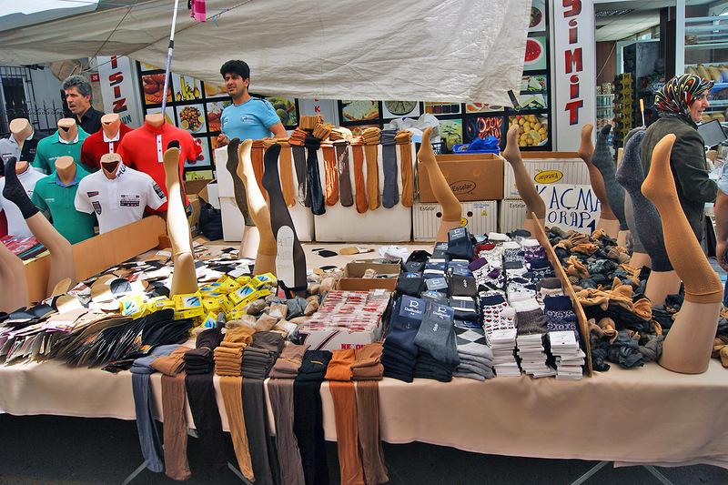Управление торговыми запасами колготки на рынке