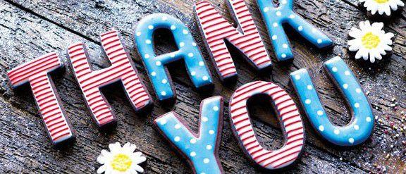 Обслуживание клиентов благодарность работникам