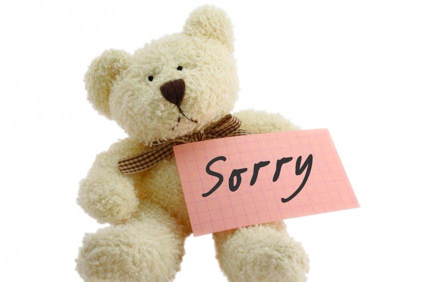 обслуживание клиентов извинения