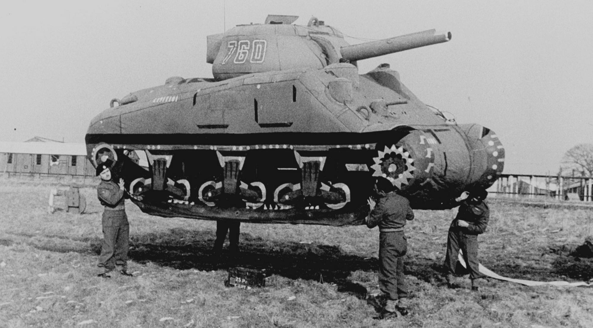 Прототип танка времен Второй Мировой Войны