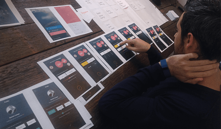 Low fidelity бумажные прототипы